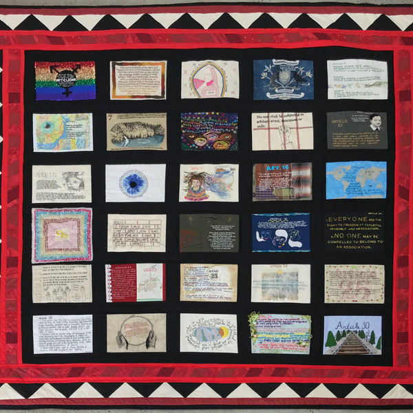 Universal Declaration of Human Rights Quilt Project