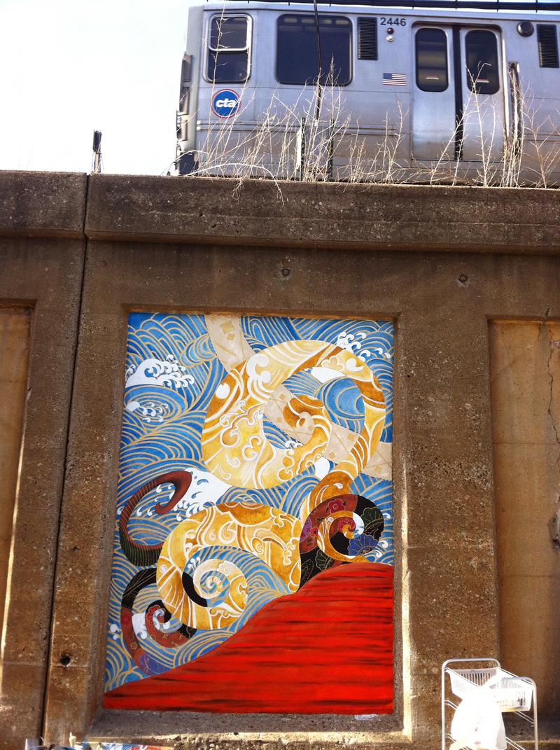 Mural With El